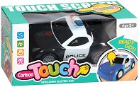 Полицейска кола - Детска играчка със звуков ефект -