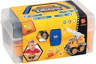 Кран с щипка - Детска играчка за сглобяване -
