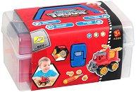 Пожарна кола - Детска играчка за сглобяване - играчка