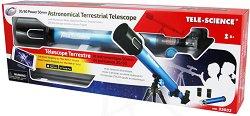Детски телескоп с триножник - Изследователски комплект -