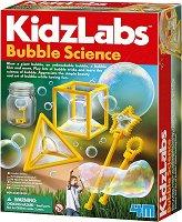 """Гигантски сапунени мехури - Детски образователен комплект от серията """"Kidz Labs"""" - творчески комплект"""