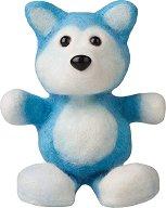 """Направи сам играчка от вълна - Кученцето Chien Husky - Творчески комплект от серията """"Fuzzeez"""" -"""
