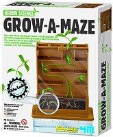 "Растение в лабиринт - Детски образователен комплект ""Green Science"" - творчески комплект"