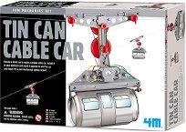 """Лифт от кенове - Образователен комплект от серията """"Mechanic Fun"""" - играчка"""