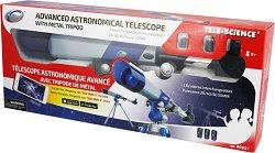 Детски телескоп с триножник - Изследователски комплект - играчка