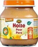 Holle - Био пюре от круши - Бурканче от 125 g за бебета над 4 месеца - продукт