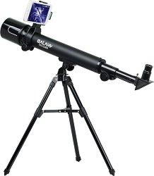Детски телескоп с триножник и поставка за смартфон - Galaxy Tracker - Изследователски комплект - играчка