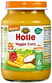 Holle - Био пюре зеленчуково къри - продукт