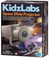 """Прожекционен апарат за космически снимки - Детски образователен комплект от серията """"Kidz Labs"""" - играчка"""