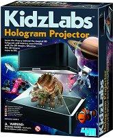 """Холограмен проектор - Детски образователен комплект от серията """"Kidz Labs"""" - релса"""