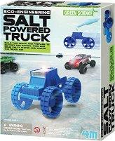"""Джип със солно задвижване - Детски образователен комплект """"Green Science"""" - количка"""