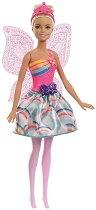 """Барби - Пеперудена фея - Комплект с изстрелващи се крила от серията """"Barbie: Dreamtopia"""" - кукла"""