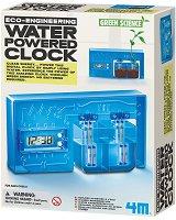 "Часовник с воден механизъм - Детски образователен комплект ""Green Science"" - играчка"