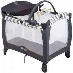 Сгъваемо бебешко легло на две нива - Contour Electra - Комплект с аксесоари -