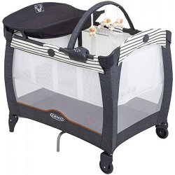 Сгъваемо бебешко легло на две нива - Contour Electra - Комплект с аксесоари - продукт