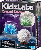 """Наука за кристали - Детски образователен комплект от серията """"Kidz Labs"""" - играчка"""