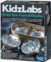 "Кристални геоди - Детски образователен комплект от серията ""Kidz Labs"" - играчка"