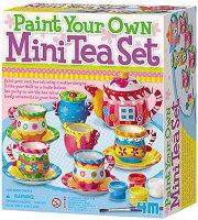 Оцвети сама - Сервиз за чай - творчески комплект