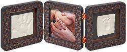 Рамка за снимка и два отпечатъка - My Baby Touch Copper Edition -