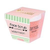 Nacomi Cleansing Face & Lip Scrub - Watermelon - Почистващ ексфолиант за лице и устни с аромат на диня -