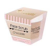 Nacomi Nourishing Face & Lip Scrub - Chocolate - Подхранващ ексфолиант за лице и устни с аромат на шоколад -