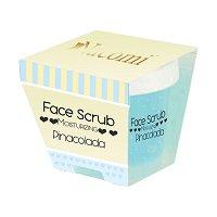 Nacomi Moisturizing Face & Lip Scrub - Pinacolada - Хидратиращ ексфолиант за лице и устни с аромат на пина колада - крем