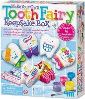 Направи сама и оцвети - Кутийка за зъбчета - Творчески комплект - продукт