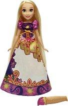 """Рапунцел - Магическа пола - Кукла за оцветяване с вода от серията """"Принцесите на Дисни"""" - детски аксесоар"""