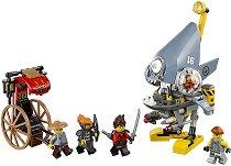 """Нападението на пиранята - Детски конструктор от серията """"LEGO Ninjago: The movie"""" -"""