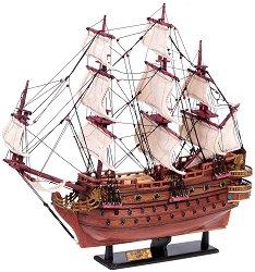 Флагман - Сан Фелипе - Декоративен кораб от дърво - макет
