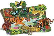 Дъждовна гора - Пъзел с 3D елементи -