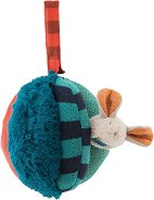 """Топка - Мишле - Мека бебешка играчка с дрънкалка от серията """"Les Zig et Zag"""" -"""