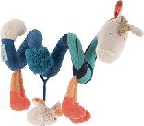 """Магаренце - Мека бебешка играчка от серията """"Les Zig et Zag"""" -"""