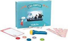 """Приказна кутия - Комплект за прожектиране от серията """"Les Histories"""" - играчка"""