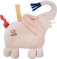 """Слонче - Музикална бебешка играчка от серията """"Les Papoum"""" -"""