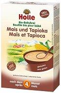 Holle - Инстантна био безмлечна каша с царевица и тапиока - Опаковка от 250 g за бебета над 4 месеца - продукт