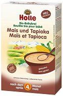 Holle - Инстантна био безмлечна каша с царевица и тапиока - Опаковка от 250 g за бебета над 4 месеца - залъгалка