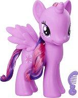 """Сумрачна Искрица - Гумена фигура с гребенче от серията """"My Little Pony"""" -"""