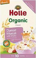 Holle - Инстантна био безмлечна каша - Мюсли с плодове - Опаковка от 250 g за бебета над 10 месеца - пюре