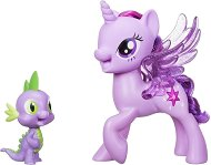 """Сумрачна Искрица и Спайк - Комплект за игра със звуков ефект от серията """"My Little Pony"""" - играчка"""