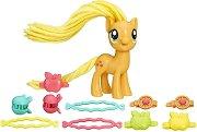 """Ябълчица с фиби за прически - Комплект за игра с аксесоари от серията """"My Little Pony"""" - играчка"""