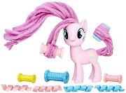 """Пинки Пай с ролки за прически - Комплект за игра с аксесоари от серията """"My Little Pony"""" - играчка"""
