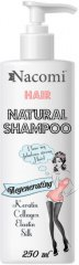 Nacomi Regenerating Natural Shampoo - Възстановяващ шампоан за крехка и суха коса -