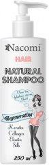 Nacomi Regenerating Natural Shampoo - Възстановяващ шампоан за крехка и суха коса - шампоан