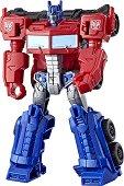"""Optimus Prime - Ion Brust - Трансформираща се играчка от серията """"Transformers: Cyberverse"""" - играчка"""