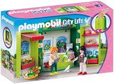 """Цветарски магазин - Детски конструктор от серията """"City Life"""" -"""