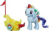 """Рейнбоу Даш с колесница - Комплект за игра с аксесоари от серията """"My Little Pony"""" - играчка"""