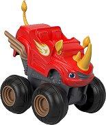 """Пламъчко - Играчка от серията """"Пламъчко и машините"""" - количка"""