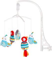 Музикална въртележка - Къщичка - Играчка за бебешко креватче -