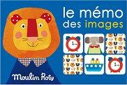 """Животни - Мемо игра от серията """"Les Popipop"""" -"""